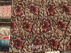 Early Study! C 1830 Sampler QUILT Antique New England Stars Postage Stamp