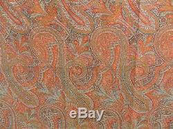 Good Victorian Double Sided Paisley Shawl