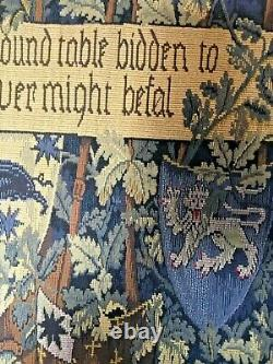 Hines Of Oxford'the Quest For The Unicorn' Tapestry/wall Hanging With Pole