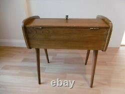 Possibly Danish vintage sewing box 50's or 60's retro design