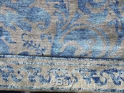 RARE Mariano Fortuny 20s Door Wall Hanging Panel Sevres Pattern Antique Fabric