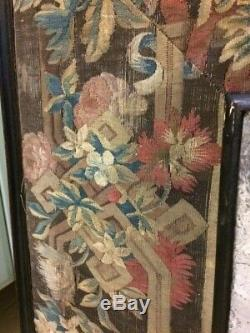 Rare needlework tapesrty mirror 1600 stumpwork embroidery embroidered TAPESTRIE