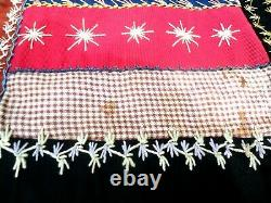 Victorian Crazy Quilt EXCELLENT COND Antique 1884 MUSEUM QUALITY Embroidery